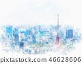 初夏的東京 46628696