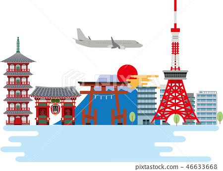 東京觀光旅遊景點 46633668