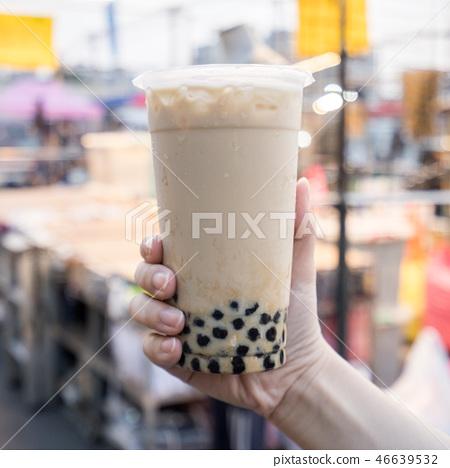 台灣小b金橘茶夜市泡泡奶茶珍珠奶茶 46639532