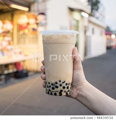 台灣小b金橘茶夜市泡泡奶茶珍珠奶茶 46639538