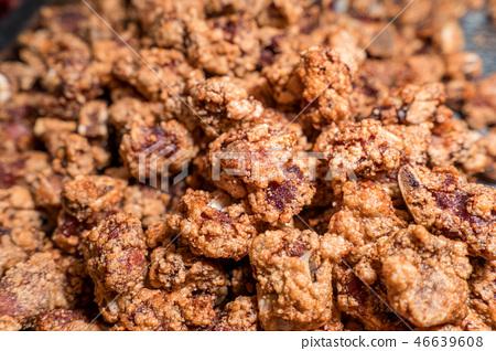 台灣 小吃 鹽酥雞 鹹酥雞 夜市 fried chicken 台湾風フライドチキン 唐揚げ 46639608
