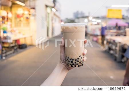 台灣小b金橘茶夜市泡泡奶茶珍珠奶茶 46639672