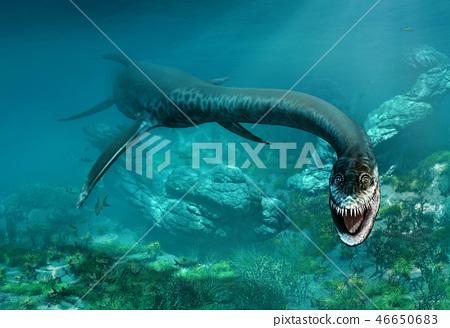 Styxosaurus 3D illustration 46650683