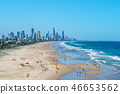scenery of surfing paradise, gold coast, brisbane 46653562