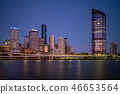 Brisbane skyline, capital of Queensland, Australia 46653564