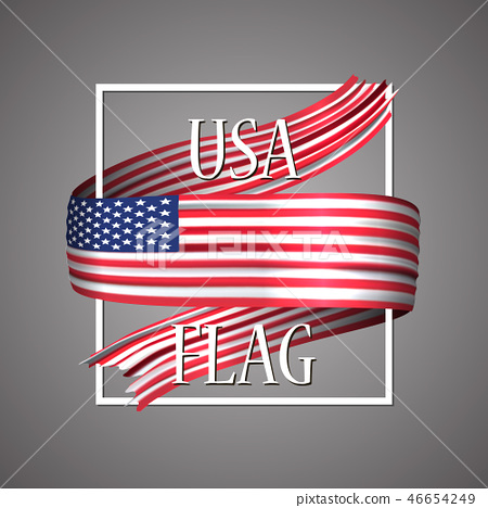 USA flag. Official national colors. United States  46654249
