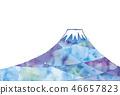 富士山 日本风格 日式风格 46657823