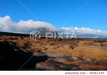 산방산,구름,해안,반영  46661344