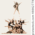 芭蕾 舞者 舞 46662779