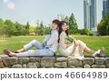 신혼, 부부, 웨딩, 야외, 프리웨딩, 스몰웨딩, 결혼 46664989