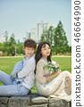 신혼, 부부, 웨딩, 야외, 프리웨딩, 스몰웨딩, 결혼 46664990