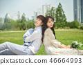 신혼, 부부, 웨딩, 야외, 프리웨딩, 스몰웨딩, 결혼 46664993