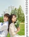 야외, 커플, 한국인 46664994