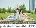 신혼, 부부, 웨딩, 야외, 프리웨딩, 스몰웨딩, 결혼 46664995