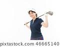 젊은 여성 골프 46665140