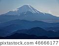 탄자 · 塔노岳에서보기 달빛 후지산 46666177