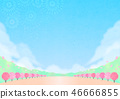 Background material Outdoor event Spring 46666855