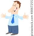 businessman employee man 46667255