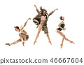 dancer, dance, woman 46667604