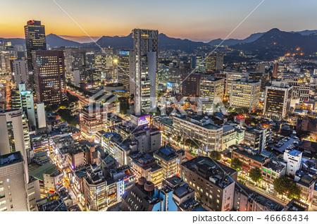 서울 야경 46668434