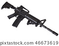 gun, tablet, rifle 46673619