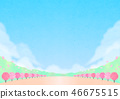 Background material Outdoor event Spring 46675515