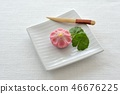 Cherry seasoning Japanese sweets / Japanese confectionery 46676225