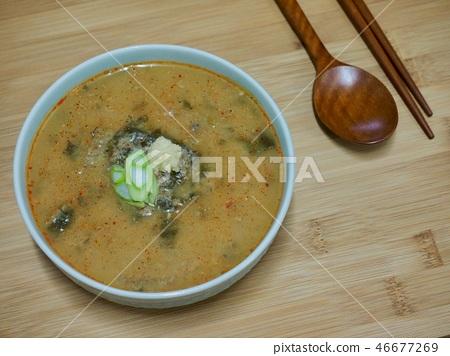 한국의 음식 추어탕 46677269