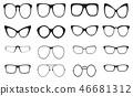 eyeglasses silhouette glasses 46681312