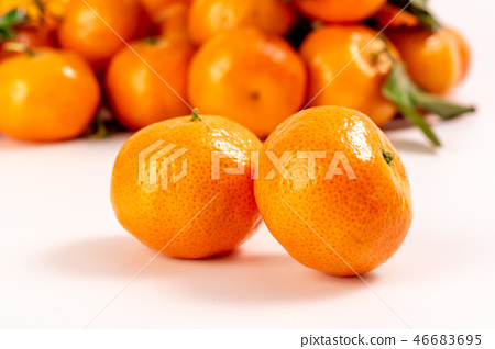 Fresh granulated tangerine 46683695