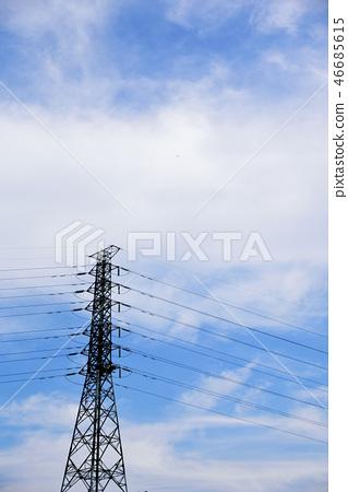高壓電塔 46685615