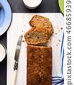 banana, bread, cake 46685939