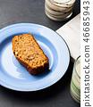 banana, bread, cake 46685943