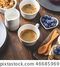 breakfast, coffee, yogurt 46685969