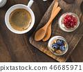 breakfast, coffee, drink 46685971