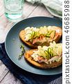 sandwich, food, cucumber 46685988