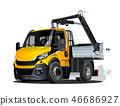 truck car crane 46686927