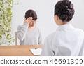 諮詢頭痛的女人 46691399