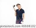 젊은 여성 골프 46698102