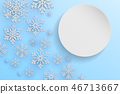 christmas,snow,vector 46713667