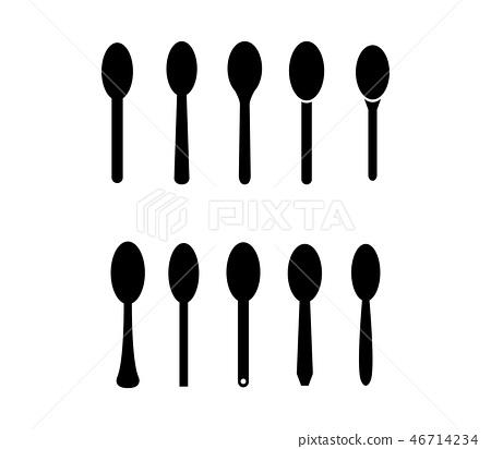 spoon icon 46714234