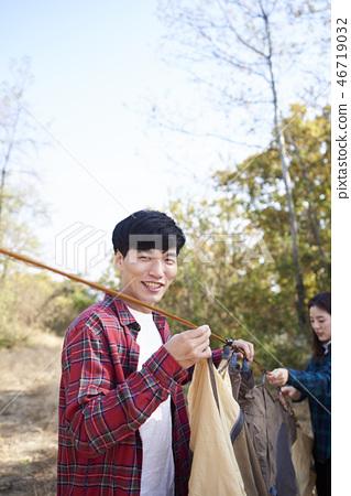 커플,캠핑,한국인 46719032