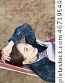 캠핑,젊은여자,한국인 46719549