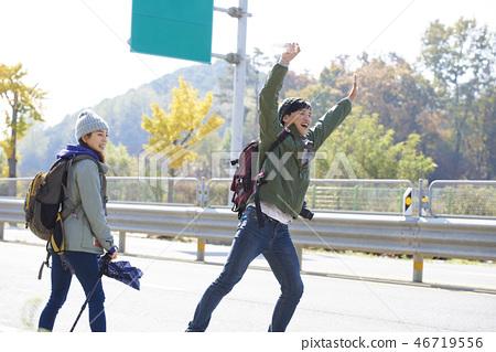 Couple, Camping, Korean 46719556