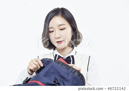 중학생,고등학생,학생,교육 46722142