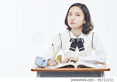 중학생,고등학생,학생,교육 46722211