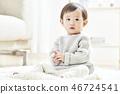유아,베이비,아기,어린이,집 46724541