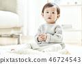 유아,베이비,아기,어린이,집 46724543