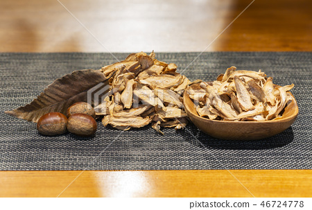 Burdock, burdock tea, dried burdock, dried herb, dried burdock, root herb, root food, root tea, root vegetables, root tea, medicine efficacy, efficacy 46724778