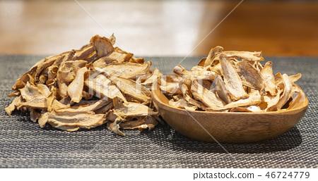 Burdock, burdock tea, dried burdock, dried herb, dried burdock, root herb, root food, root tea, root tea, medicinal efficacy, efficacy, herb 46724779